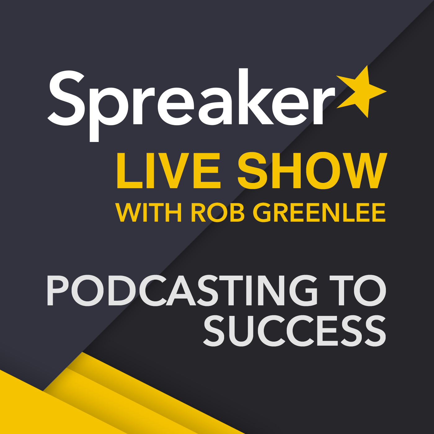 Spreaker Live Show with Rob Greenlee