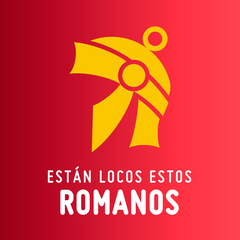 Logo de Están locos estos romanos