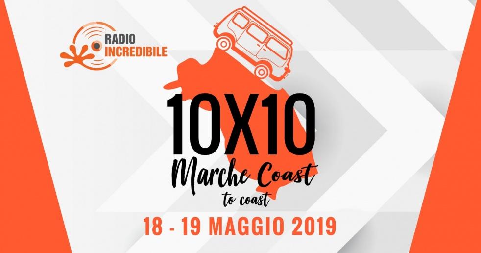 10x10 Marche Coast to Coast - show cover