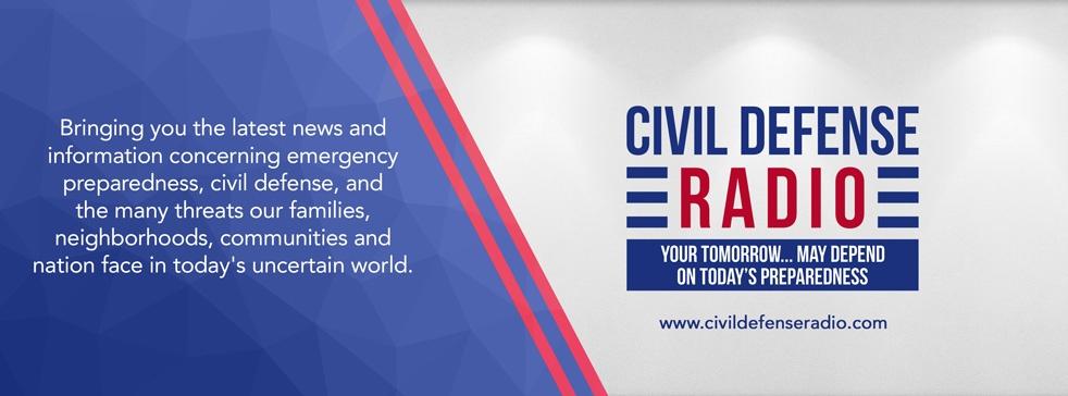 Civil Defense Radio - imagen de show de portada