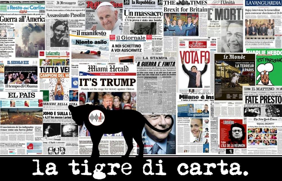 LA TIGRE DI CARTA - immagine di copertina dello show
