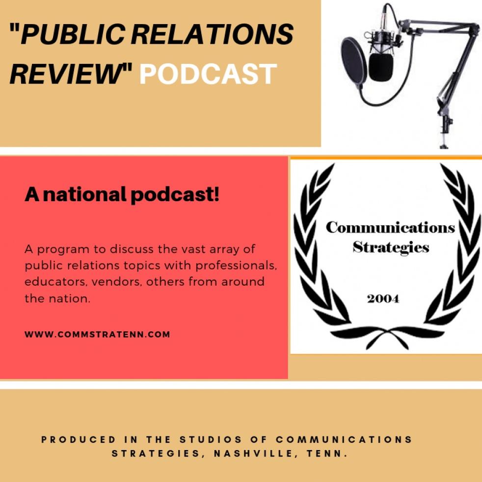 Public Relations Review - immagine di copertina dello show