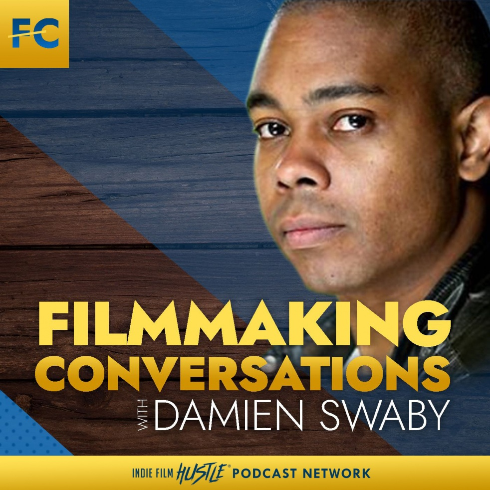 Filmmaking Conversations Podcast with Damien Swaby - immagine di copertina