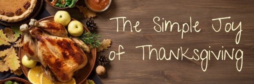 The Simple Joy of Thanksgiving - show cover