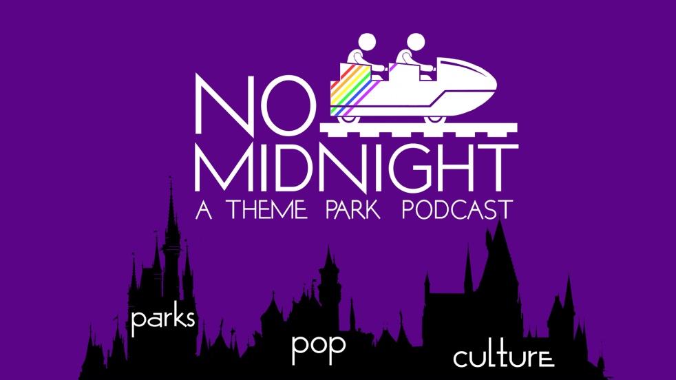No Midnight - A Theme Park Podcast - immagine di copertina dello show