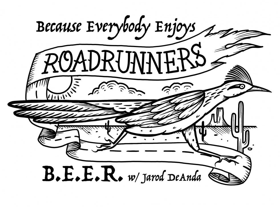 Because Everybody Enjoys Roadrunners - imagen de portada