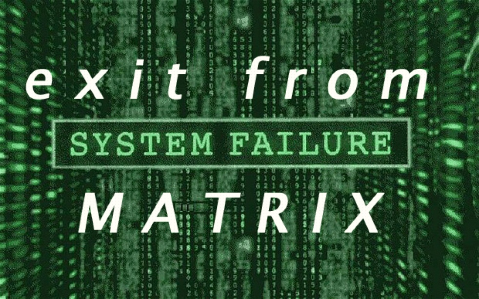 Exit from Matrix - Cover Image
