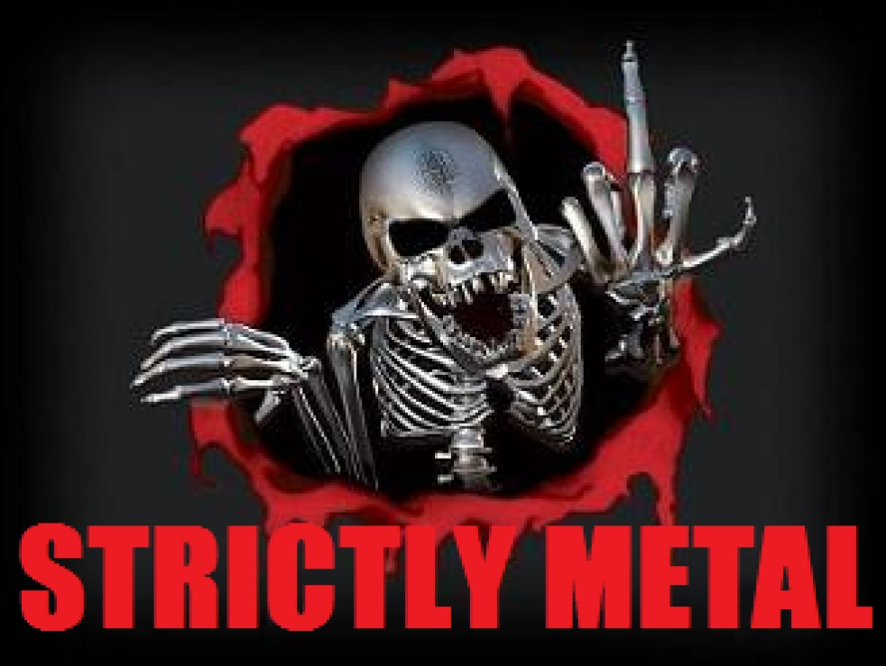 STRICTLY METAL - imagen de show de portada