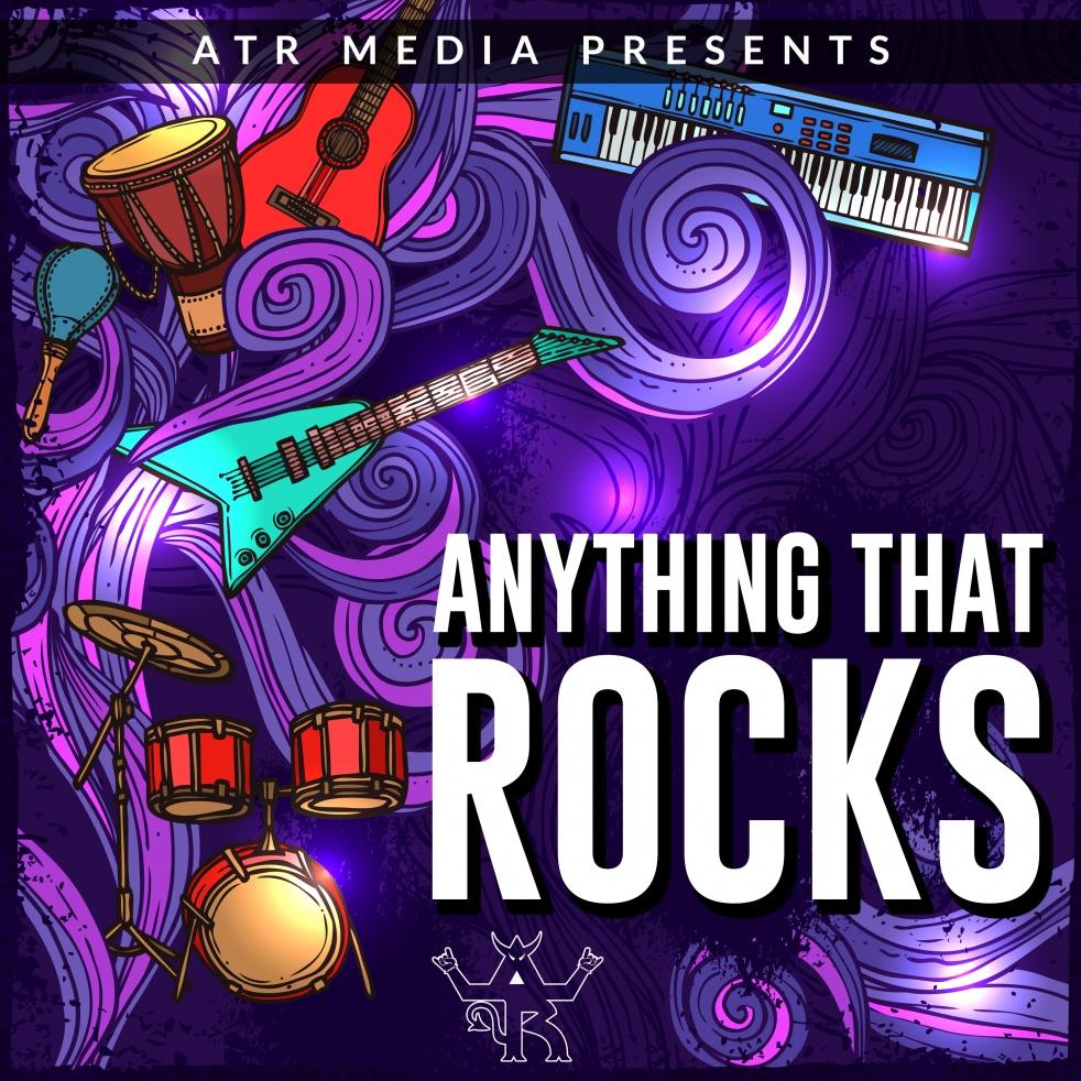 Anything That Rocks Radio - imagen de show de portada