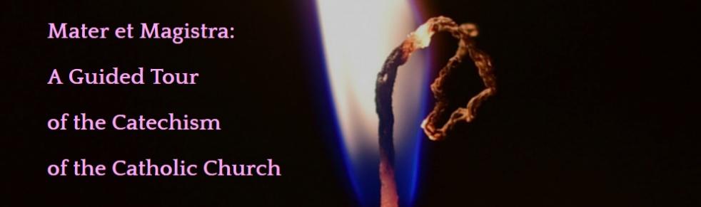 Mater et Magistra - imagen de show de portada