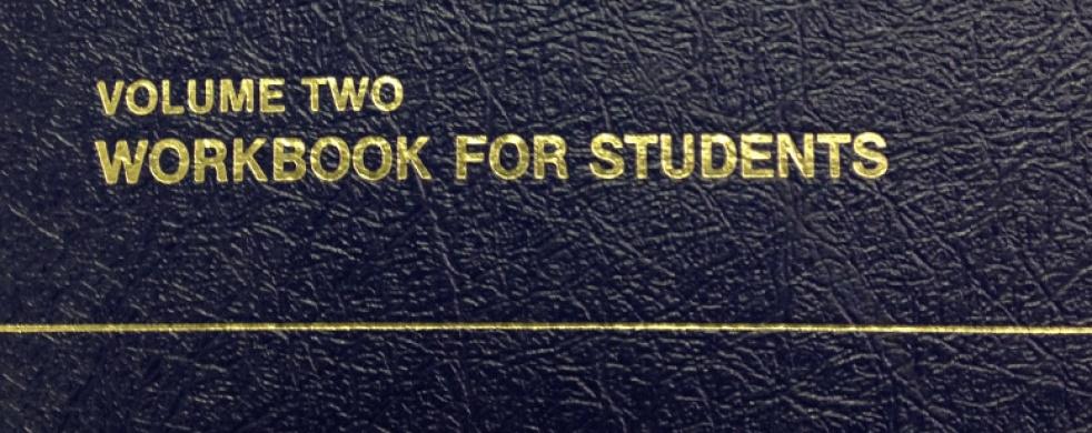 ACIM Workbook Lesson Keys - show cover