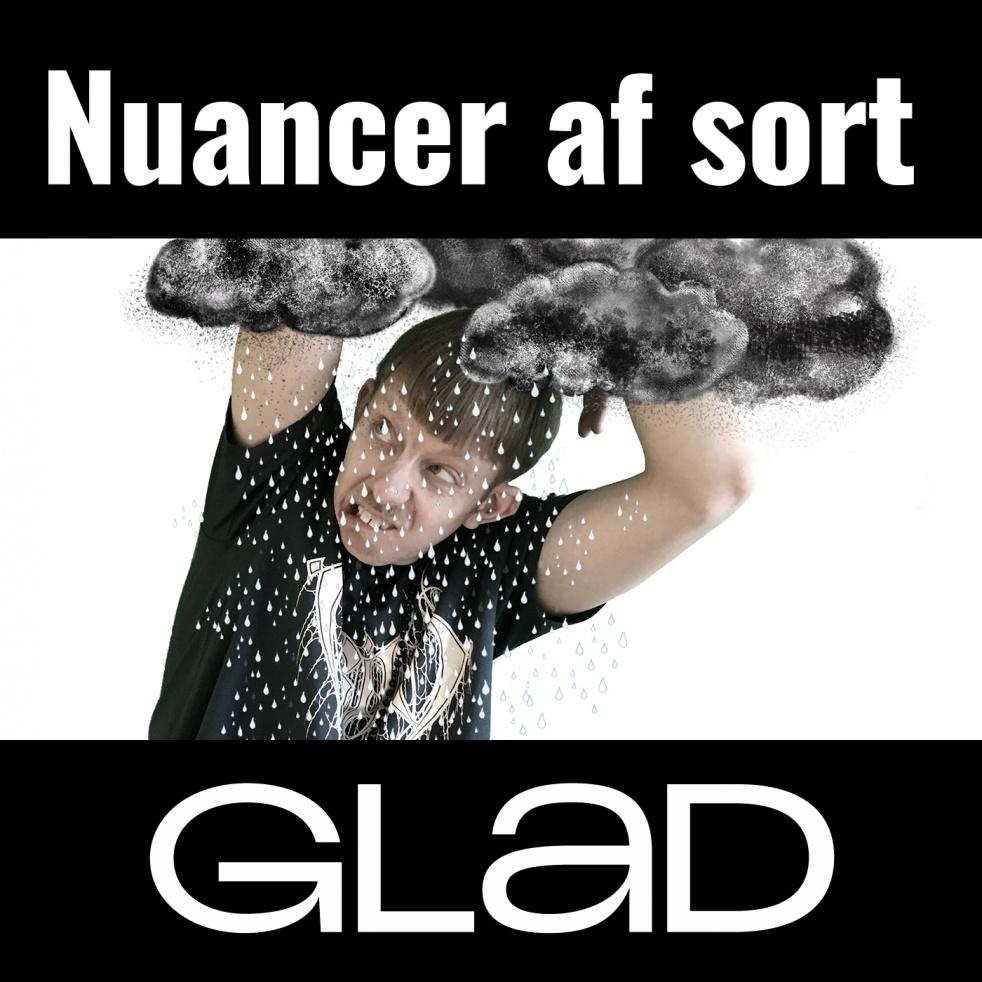 RADIO GLAD - Nuancer af sort - Cover Image