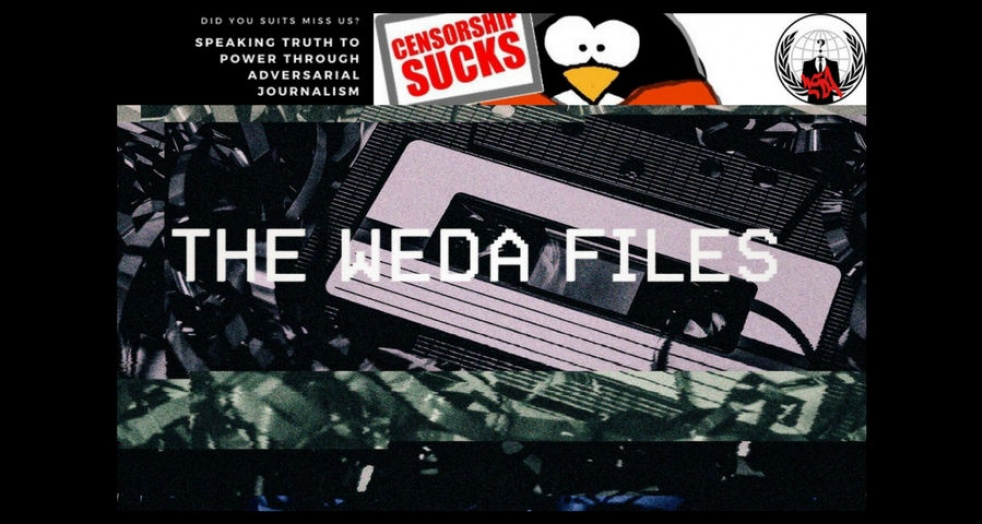 The WEDA files - show cover