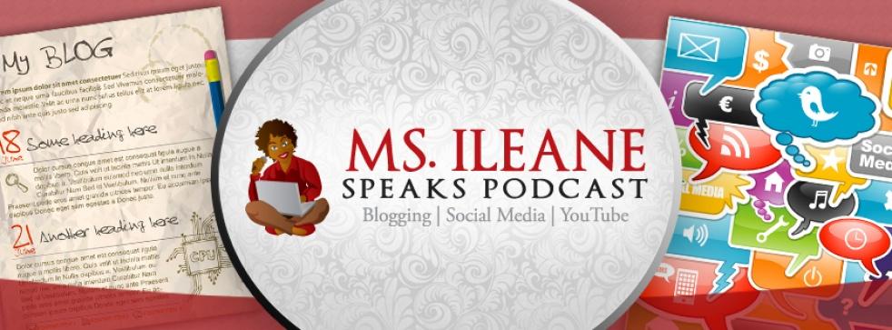 Ms. Ileane Speaks - show cover