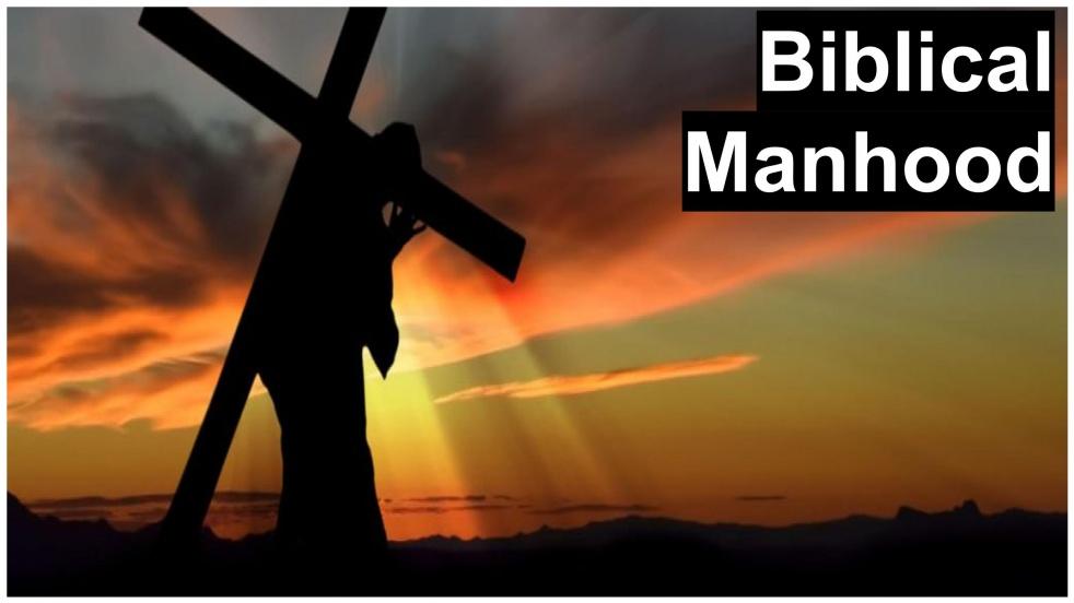 Biblical ManHood - Cover Image