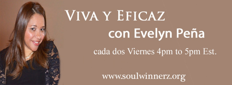 Viva y Eficaz con Evelyn Peña - show cover