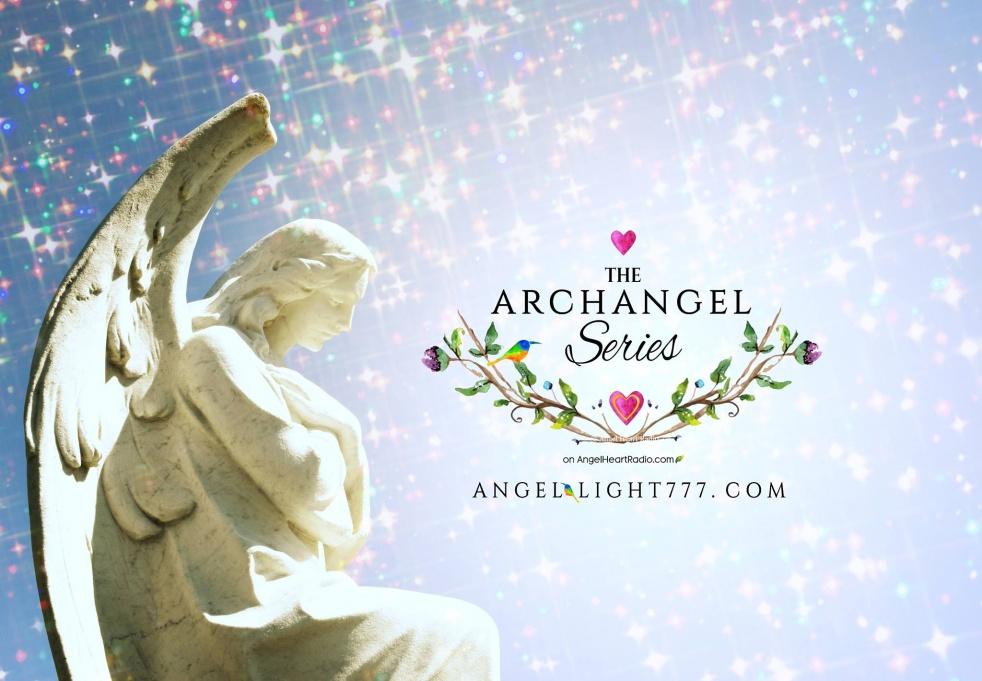 The Archangel Series: Angel Heart Radio - imagen de show de portada