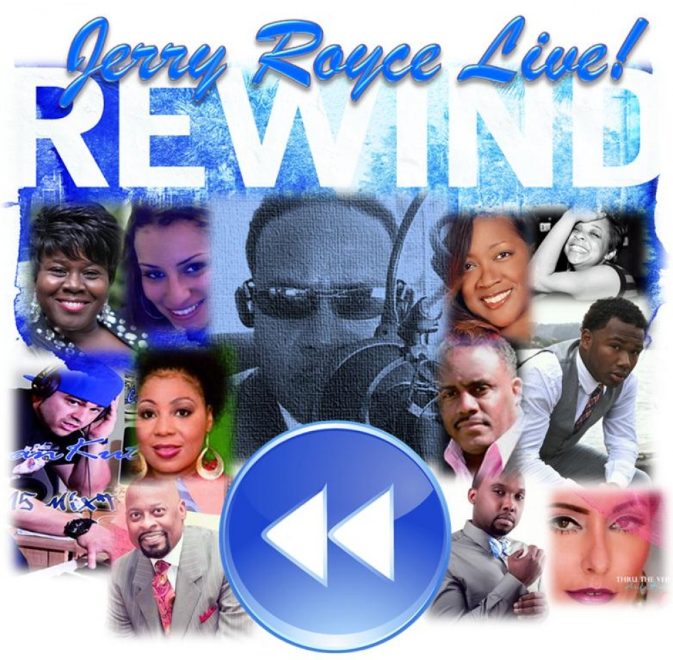 STREAMIN' WIT' JERRY ROYCE LIVE DAY SHOW - show cover
