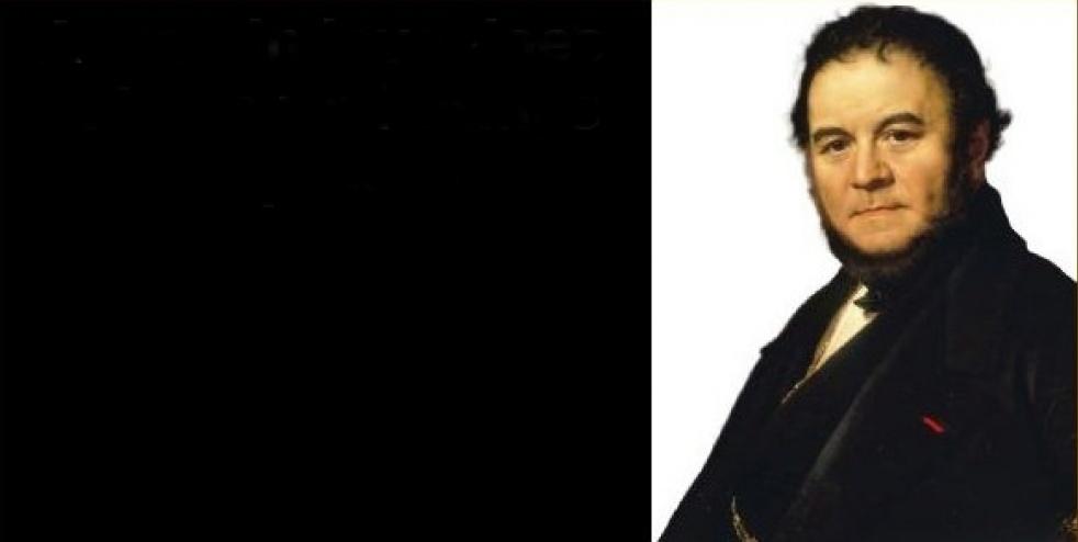 Stendhal: Il rosso e il nero - show cover
