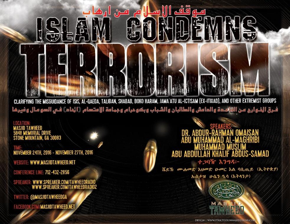 Islam Condemns Terrorism Seminar 2016 - show cover