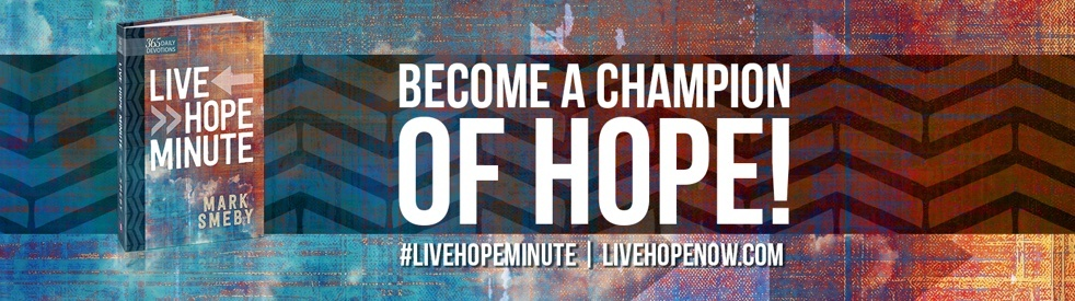 Live Hope Minute with Mark Smeby - show cover