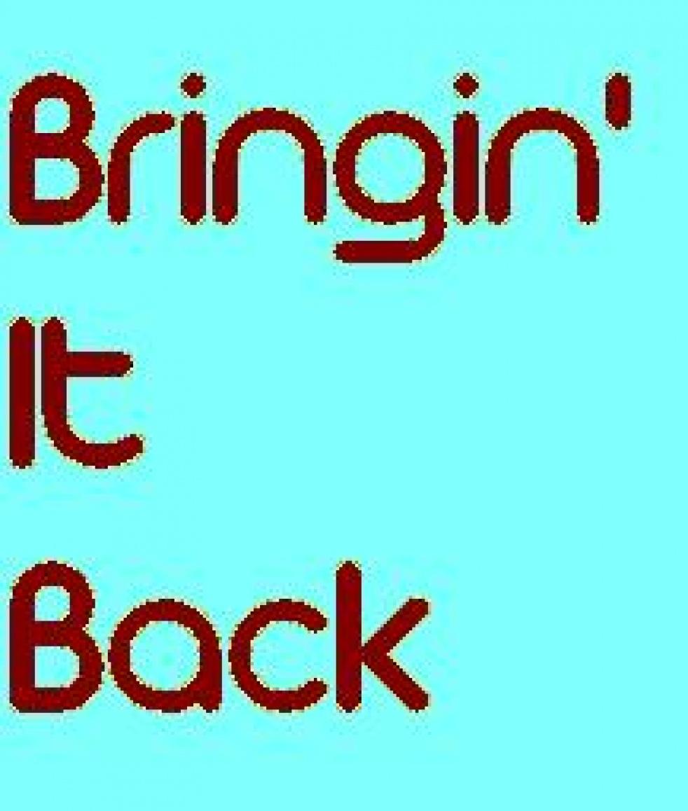 Bringin' It Back - Cover Image