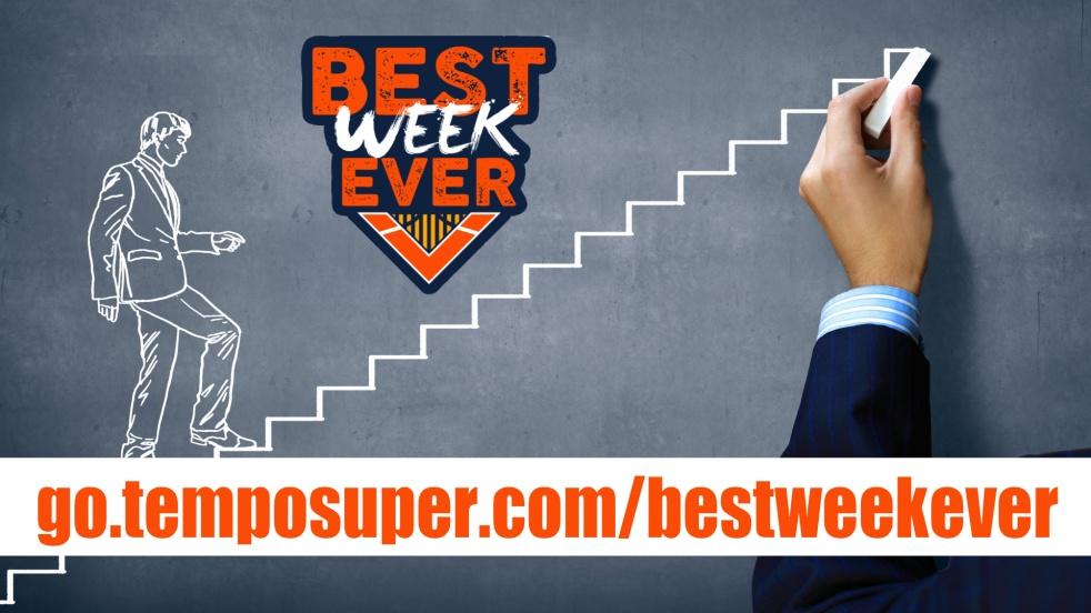 BestWeekEver - Produttività al TOP - imagen de show de portada