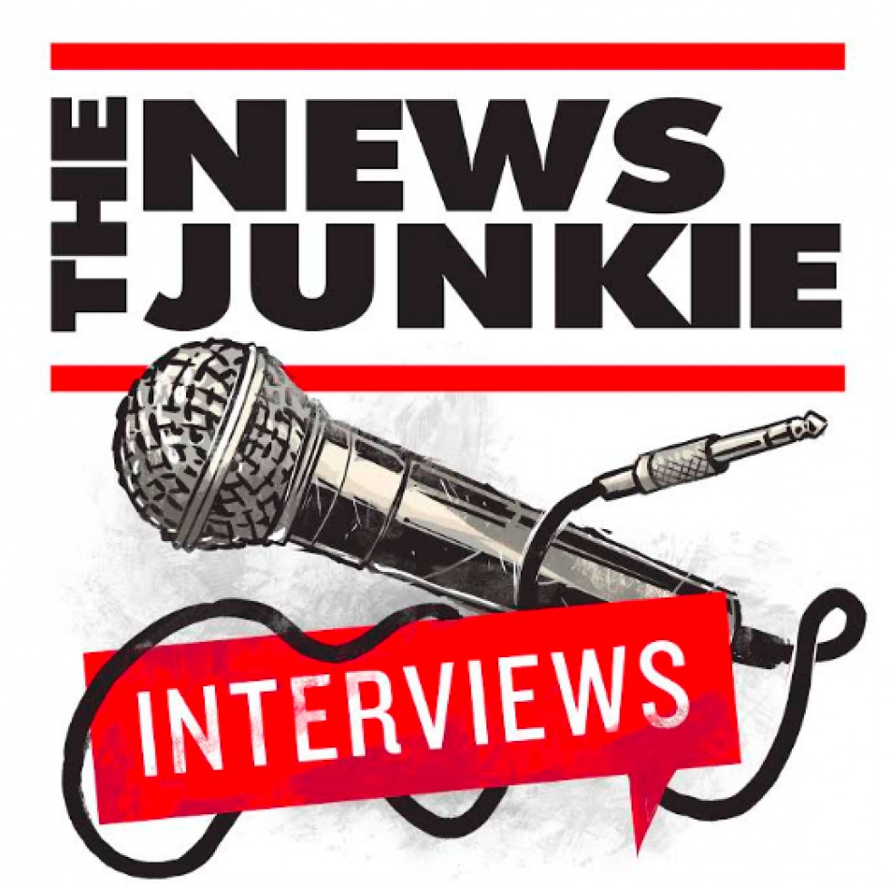 The News Junkie: Interviews - show cover