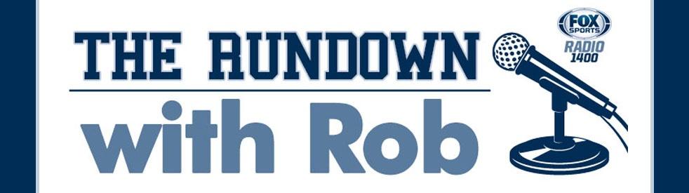 The Rundown with Rob Sanders - imagen de portada