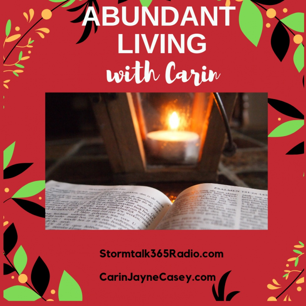 Abundant Living w/Carin - show cover