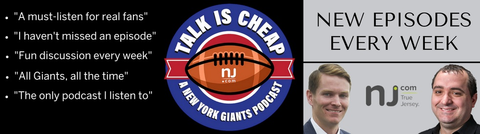 Talk is Cheap: A New York Giants Podcast - show cover