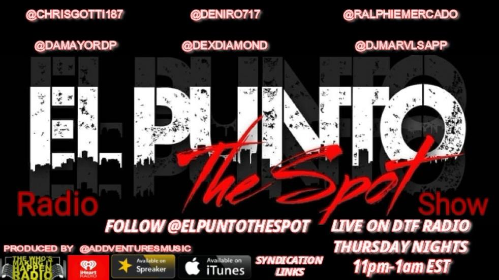 El Punto The Spot Radio - show cover