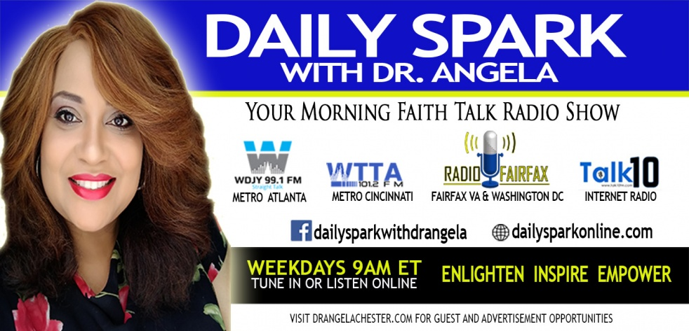 Daily Spark with Dr. Angela - Cover Image
