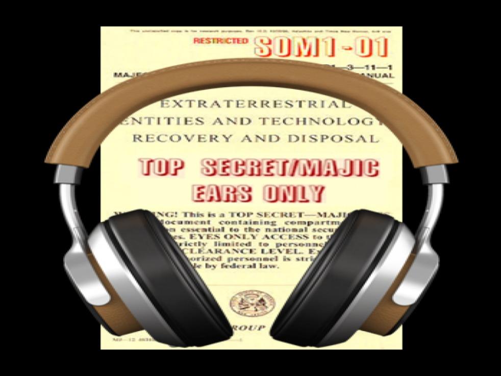 Majestic:Ears Only- A UFO Cryptid Pod - immagine di copertina dello show
