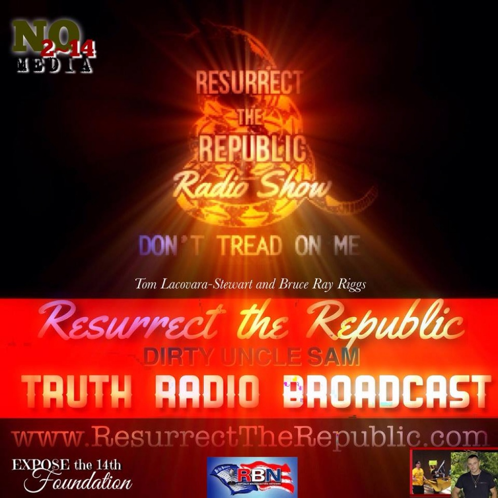 Resurrect the Republic - show cover