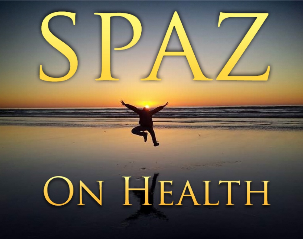 Spaz on Health - show cover