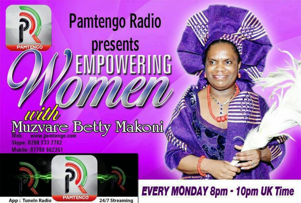The Betty Makoni Show - show cover