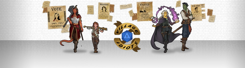 The Village Idiots - A D&D Podcast - imagen de show de portada