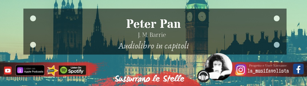 ∞ PETER PAN ∞ J.M.Barrie ☆ Audiolibro ☆ - imagen de show de portada