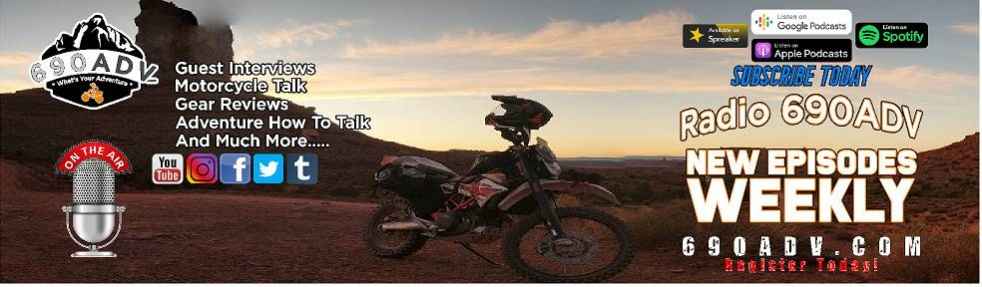 Radio 690ADV Motorcycle Podcast - Cover Image