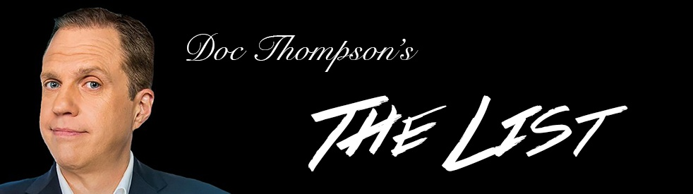 """Doc Thompson's """"The List"""" - show cover"""