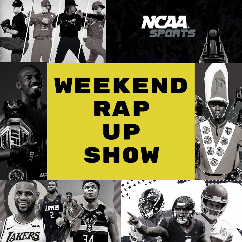 Weekend Rap Up - Cover Image