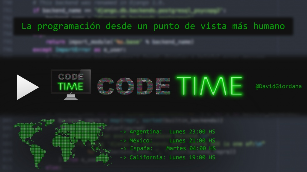 Code Time - show cover