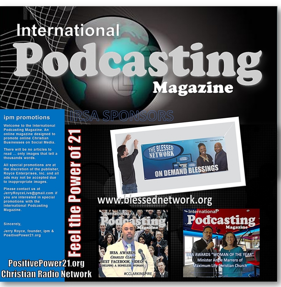 INTERNATIONAL PODCASTING MAGAZINE (IPM) - show cover