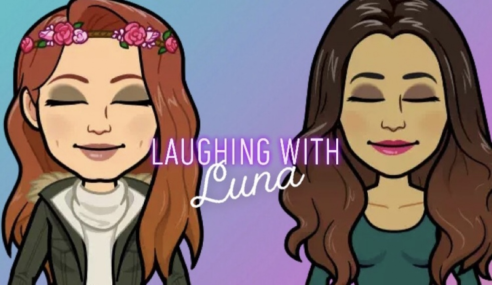 Laughing with Luna - Cover Image