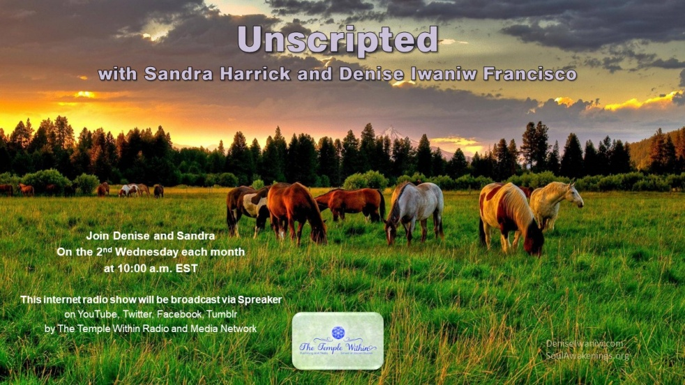 Unscripted with Sandra and Denise - show cover
