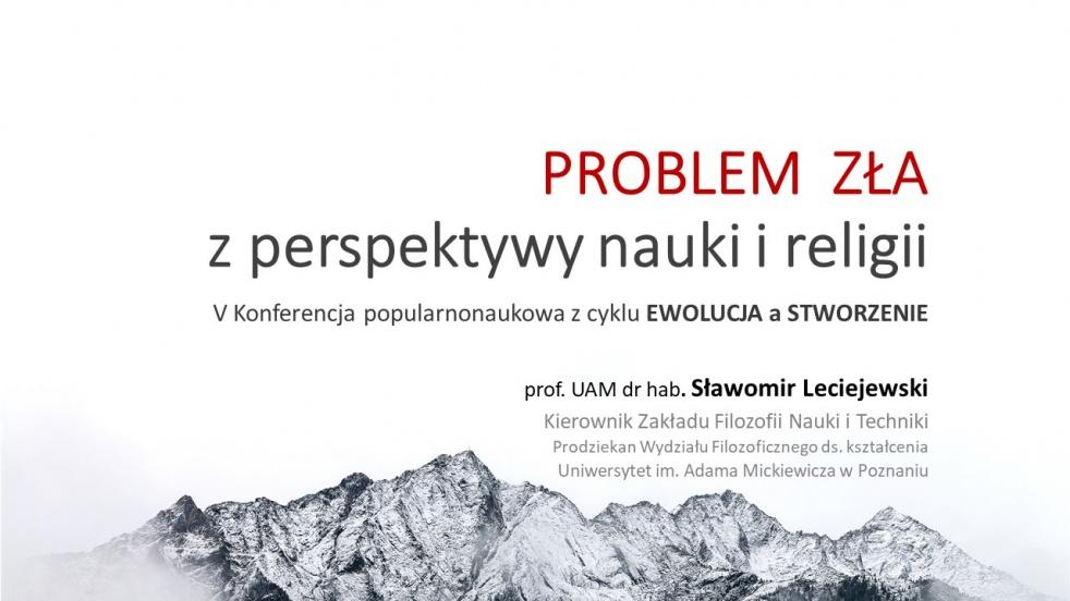 5. Problem zła a nauka - Cover Image