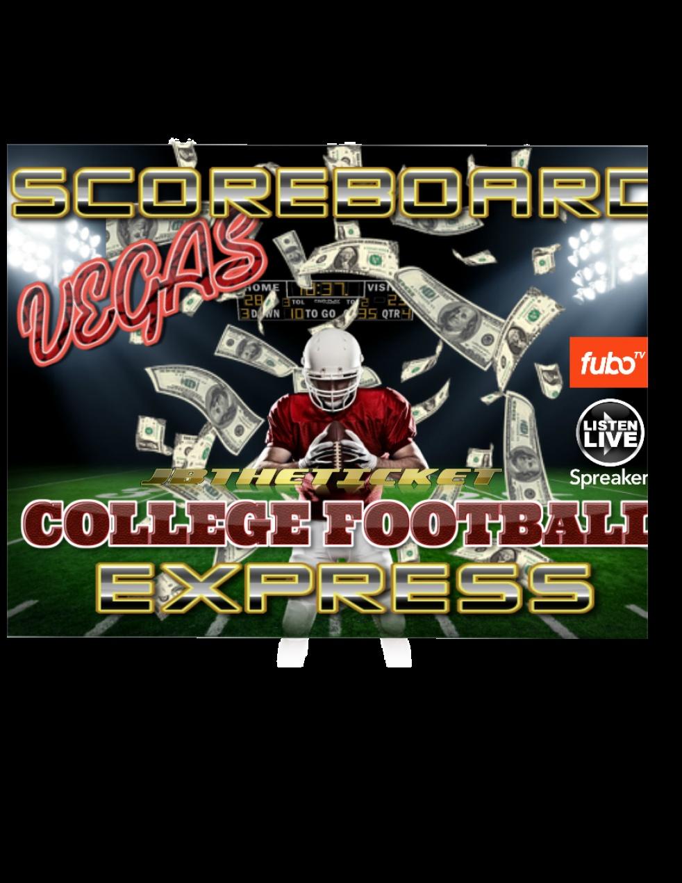 Vegas ScoreBoard Express Live! - show cover