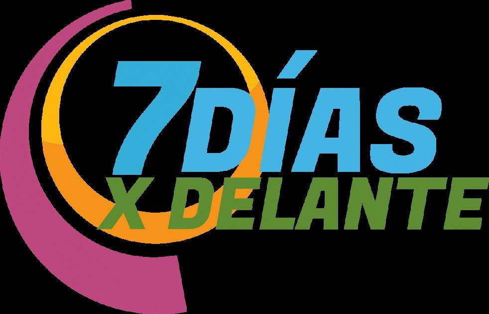 7 Días x Delante - Cover Image