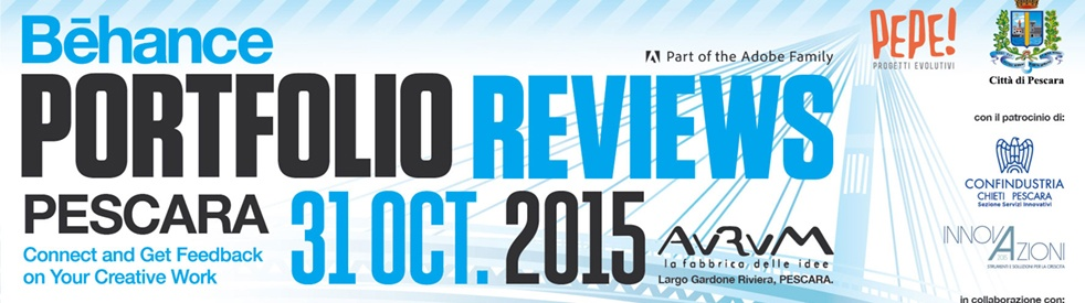 Behance Portfolio Reviews Pescara 2015 - show cover